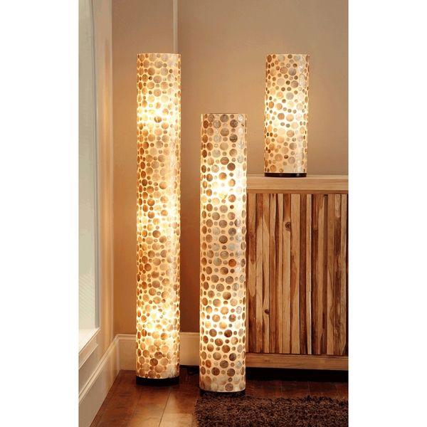 Floor Accents: Cuero Sleek Polished Transitional Brown Indoor Floor Lamp
