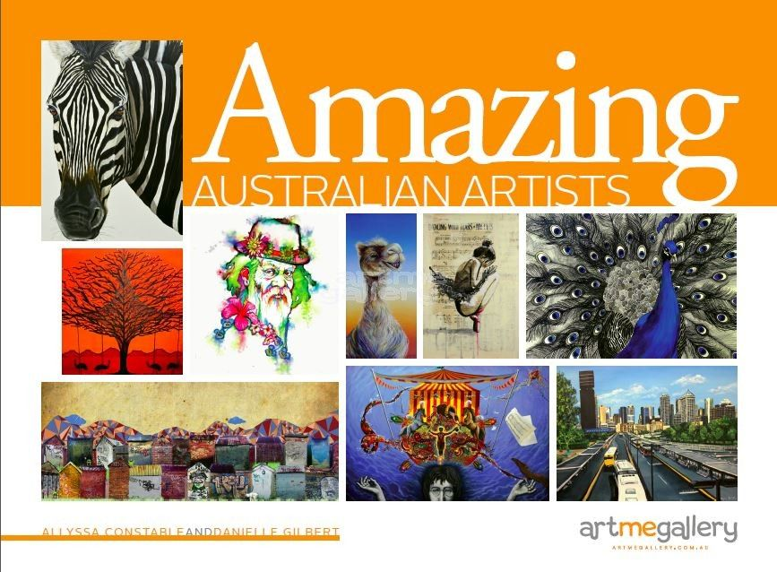 Amazing Australian Artists Coffee Table Book Featuring The Work