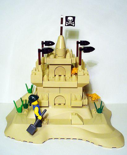 LEGO Sand Castle MOC
