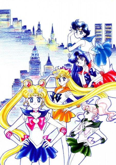 Naoko Takeuchi, Bishoujo Senshi Sailor Moon, Minako Aino, Sailor Mars, Makoto Kino