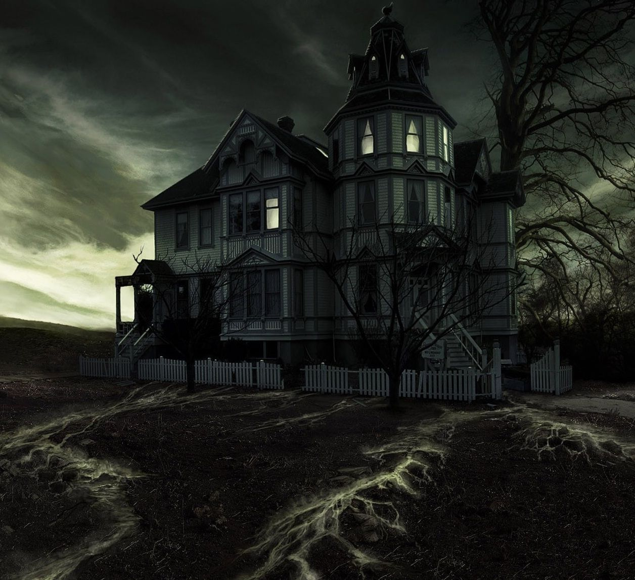 This website is currently unavailable. Spooky house