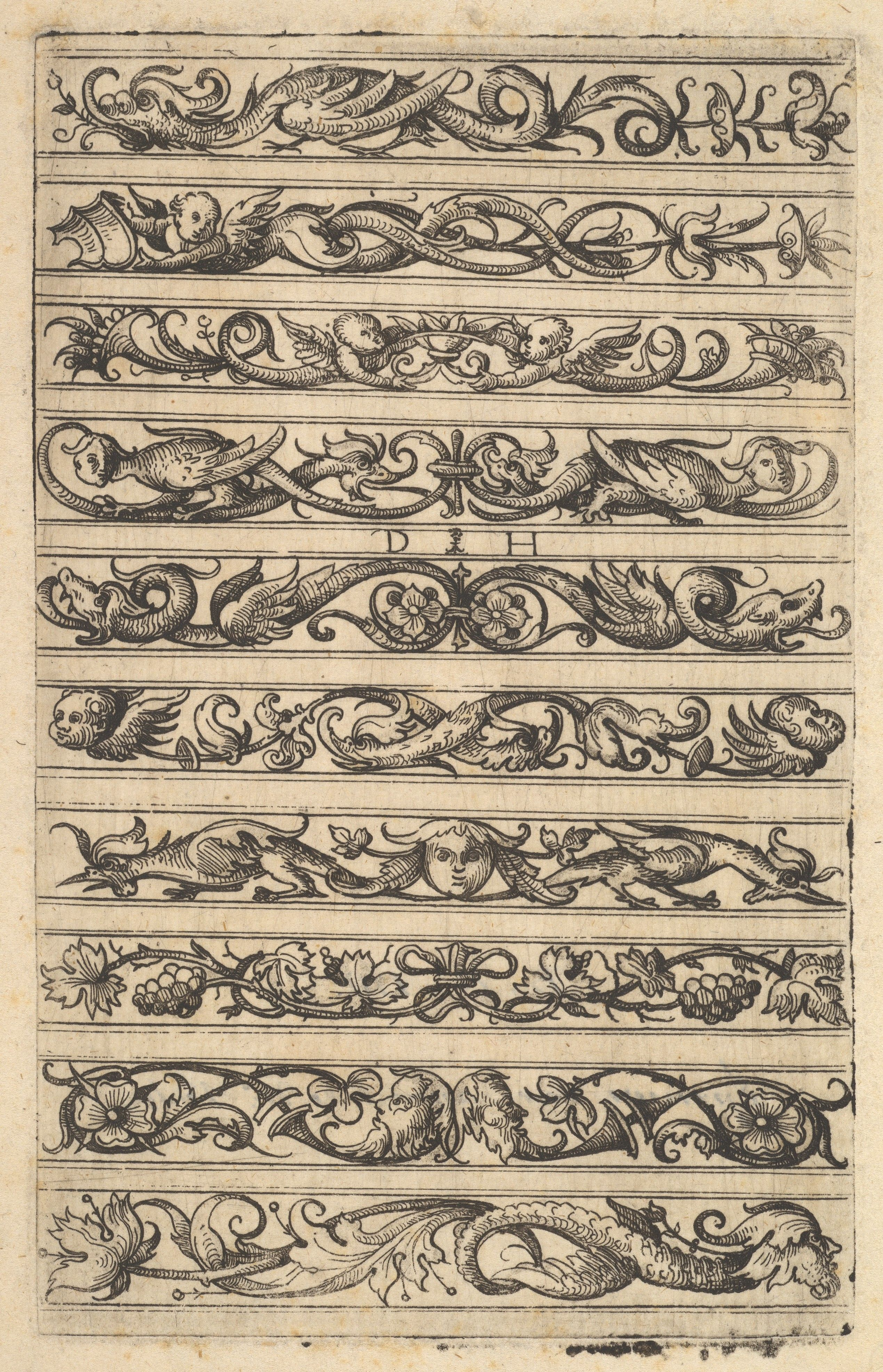 Daniel Hopfer Designs For Ten Decorative Friezes The Met Fantastic Art Art Beautiful Art