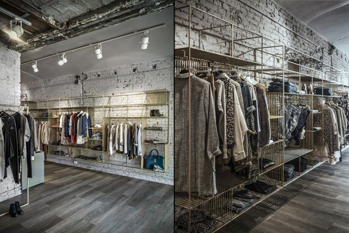 Cage clothing store