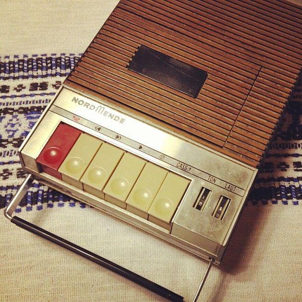 Kassettenrekorder. #90'stoys