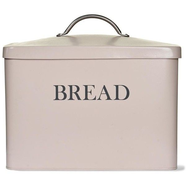 Garden Trading Bread Bin - Stone (€33) ❤ liked on Polyvore featuring home, kitchen & dining, food storage containers, kitchen, neutral, bread box, garden trading, bread bin and garden trading bread bin