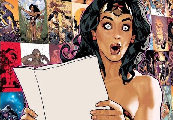 Adam Hughes: 'All-Star Wonder Woman' is 'In a Coma on a High, Dark Shelf'