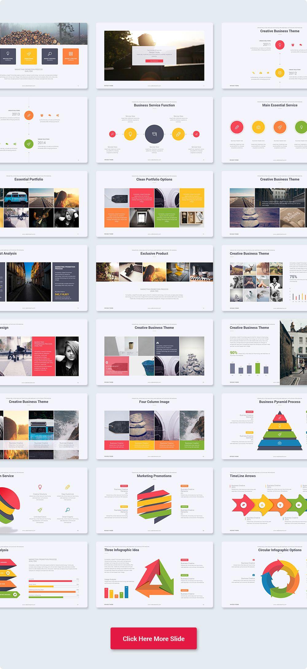 NEVADA Creative & Multipurpose Keynote Theme Get a modern Keynote ...