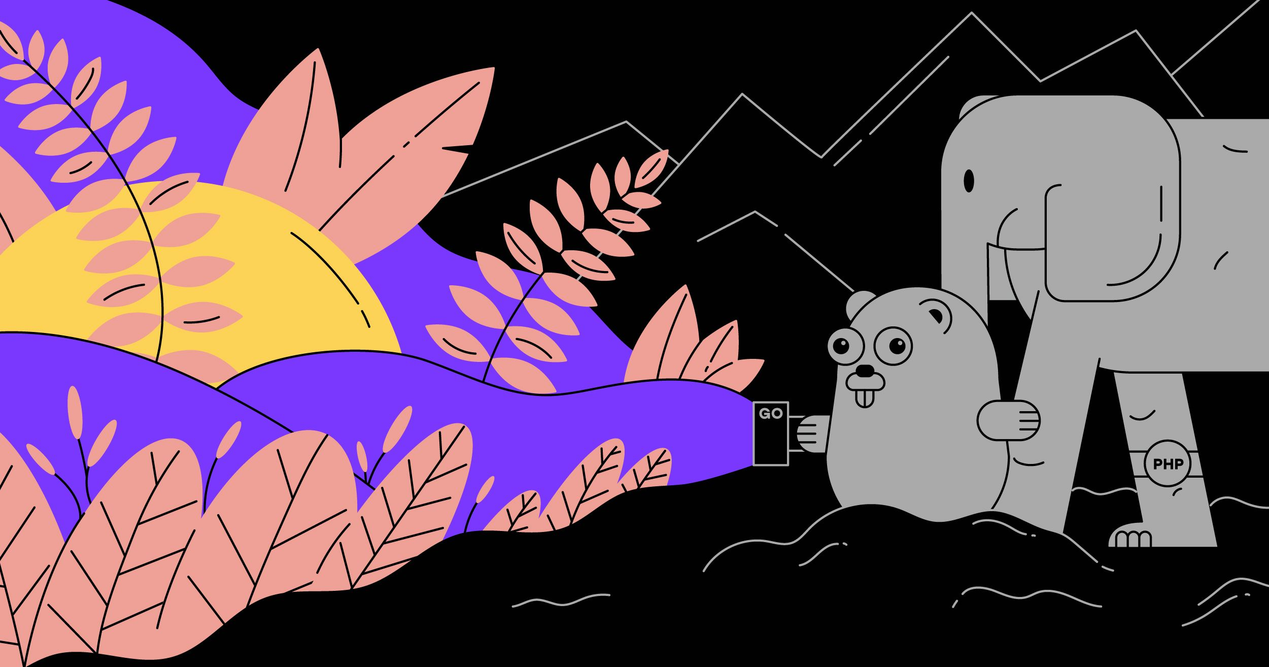 badoo_tech blog illustrations on Behance
