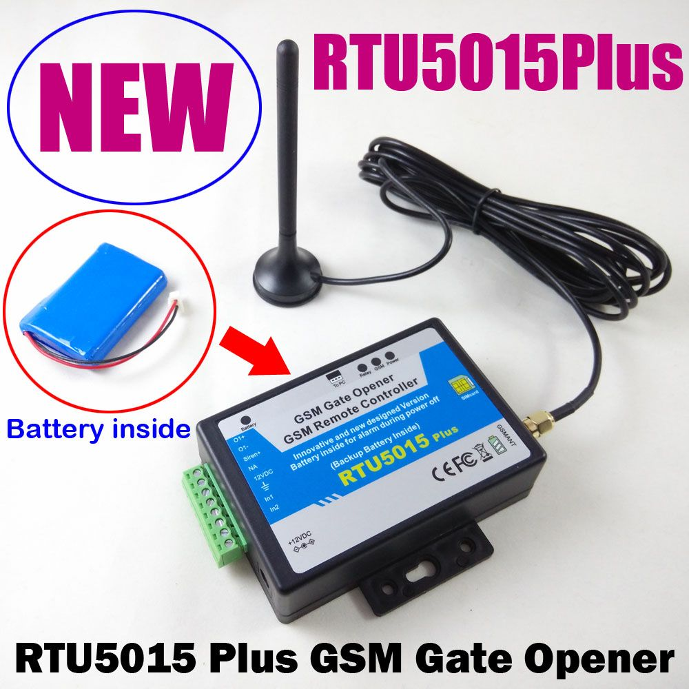 RTU5015 Plus GSM Gate Opener Relay Switch Remote Access Control ...