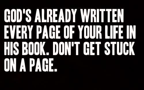 Don't get stuck on a page