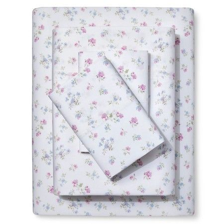 candy floral sheet set pink simply shabby chic target