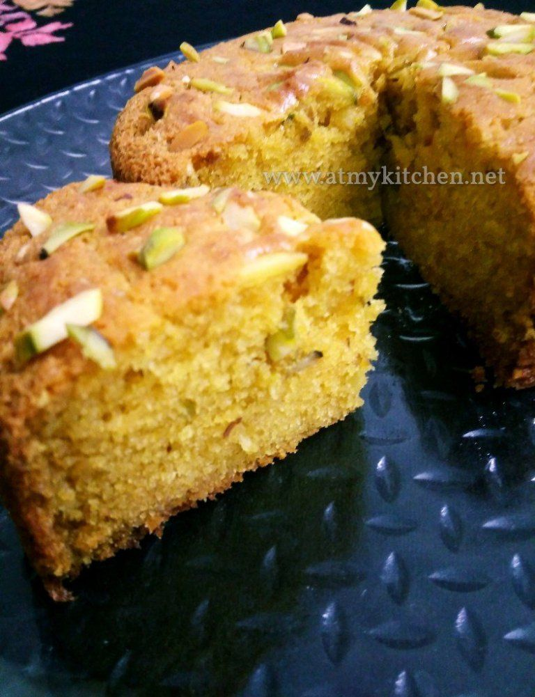 Mawa Pistachios Cake Recipe Eggless Mawa Cake Recipe Eggless Pistachios Cake Recipe At My Kitchen Pistachio Cake Recipe Cake Recipes Almond Cake Recipe