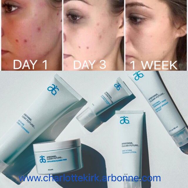 Amazing Results Within One Week Using The New Arbonne Clear Future Range Ideal For Skin Problems Spots And Acne Arbonne Arbonne Skin Care Arbonne Consultant