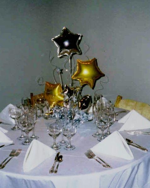 Star centerpiece decorations table decor