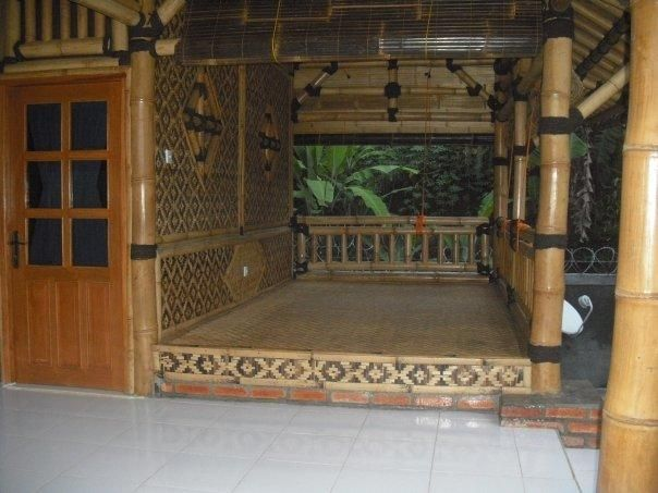 Gambar Desain Rumah Villa Bambu Eksotik Model Desain Dengan
