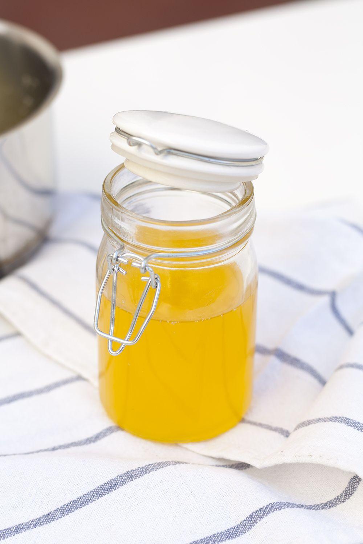 Mantequilla clarificada, como hacerla y sus usos.