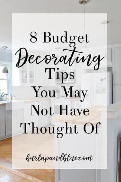 Room Decor Ideas On A Budget 8 Decorating Tips For Your Home