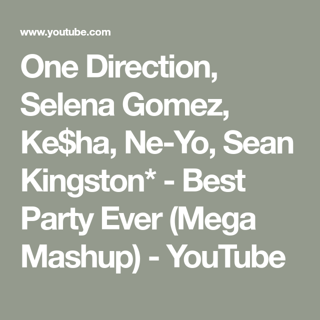 one direction selena gomez