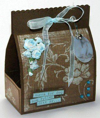 ca2e77a2b Molde para hacer bolsa de regalo (1) | BOLSAS - papel regalo | Gift ...