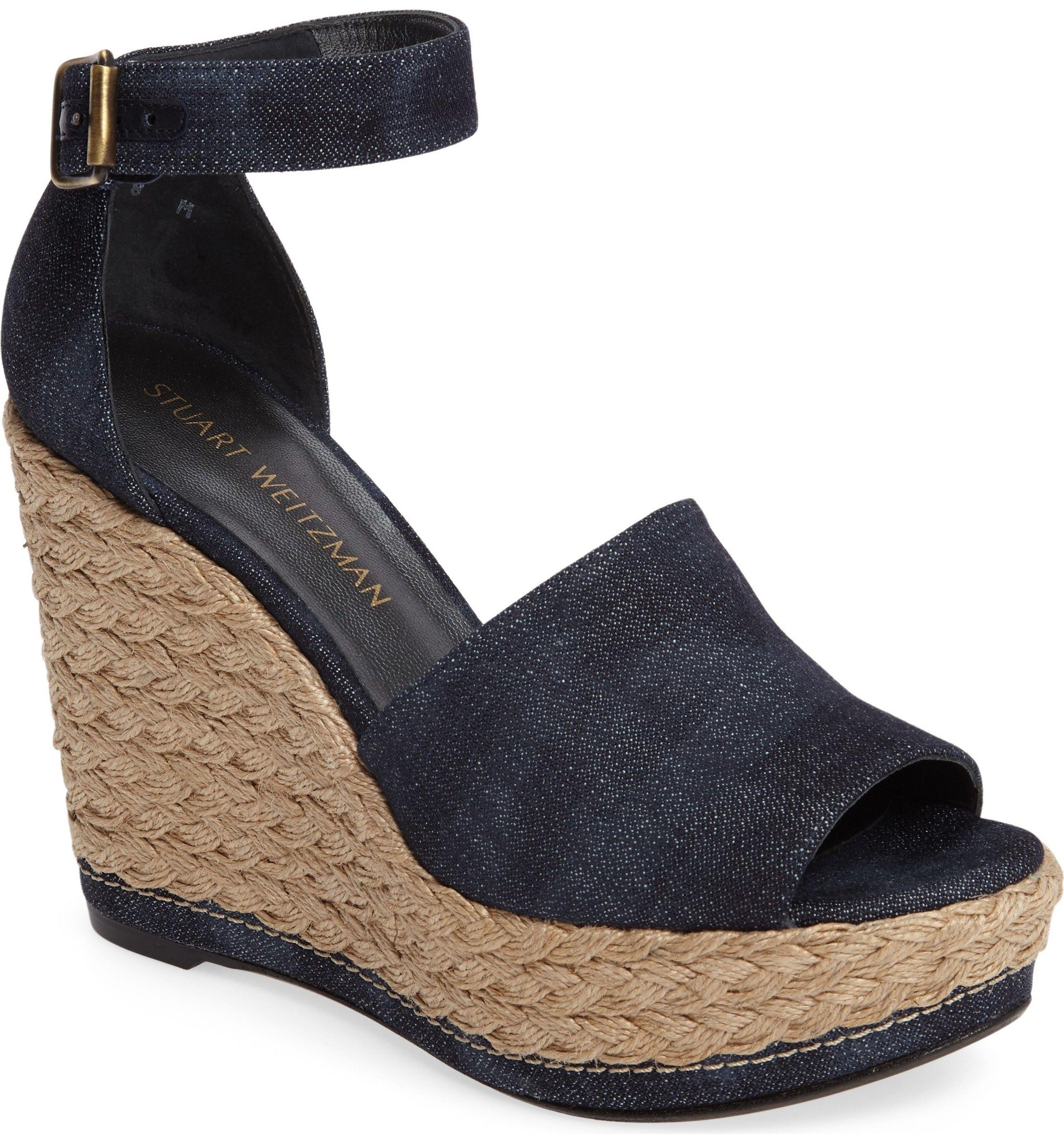 96b50c276a1 Main Image - Stuart Weitzman Sohojute Platform Wedge Sandal (Women ...