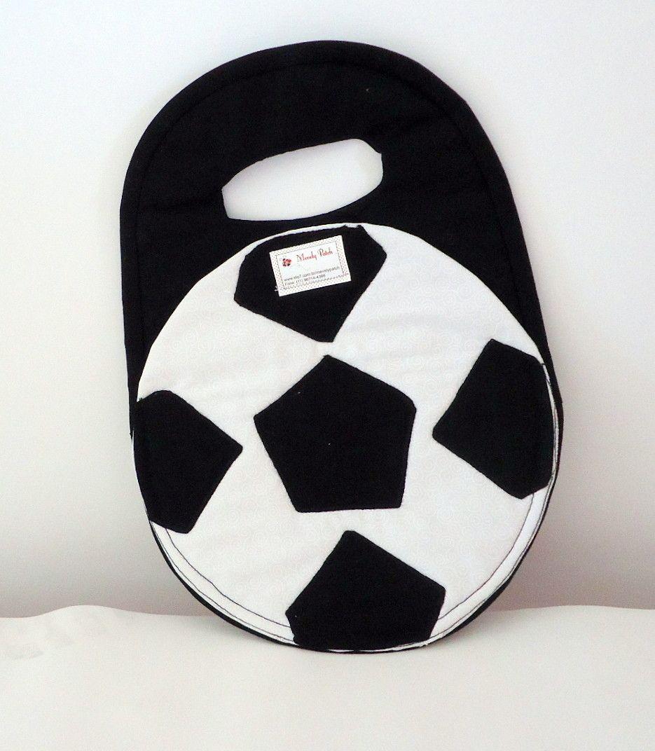 Lixeira confeccionada em tecido algodão nas cores branco e preto ou se preferir na cor do seu time predileto.
