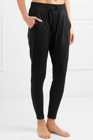 Tiranía Inferir Noticias de última hora  Nike - Flow Lux Dri-FIT stretch-jersey tapered pants | Pants, Dance pants,  Black pants