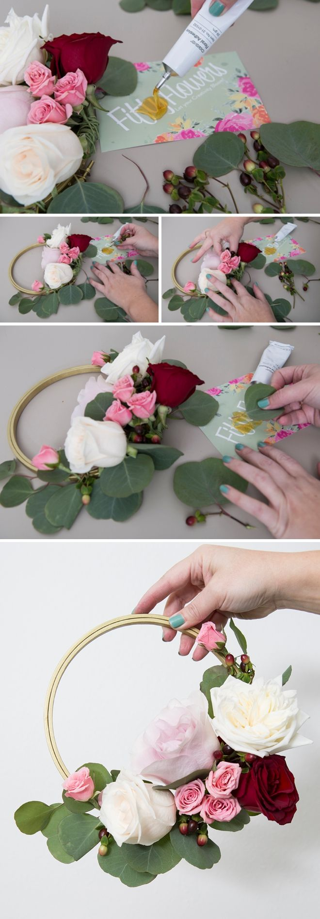 Wow these diy floral hoops are simply gorgeous craft tutorials