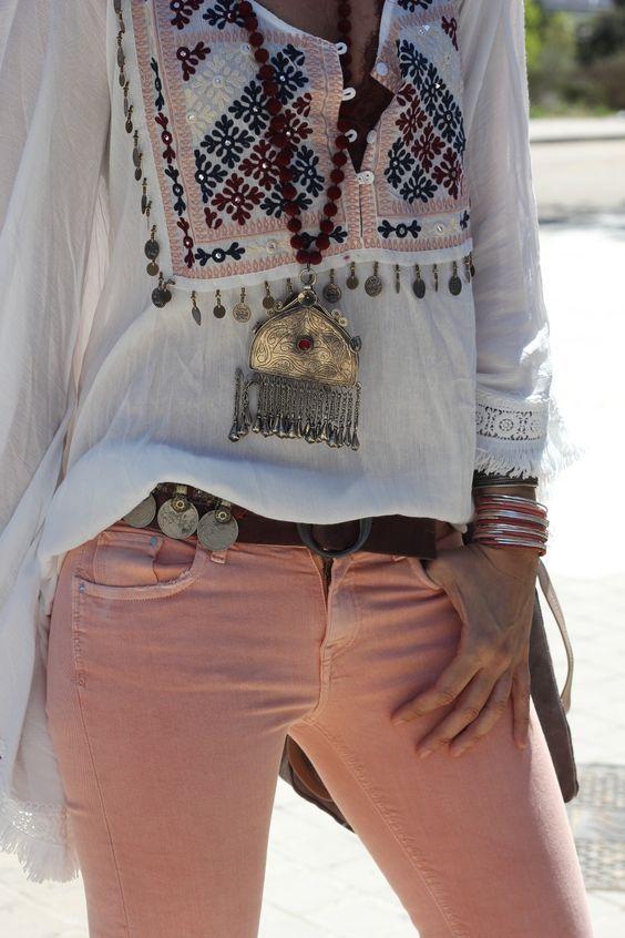 461db3d03ef Pin by mayi romero on blusas bordadas in 2019 | Boho fashion, Boho outfits, Boho  chic