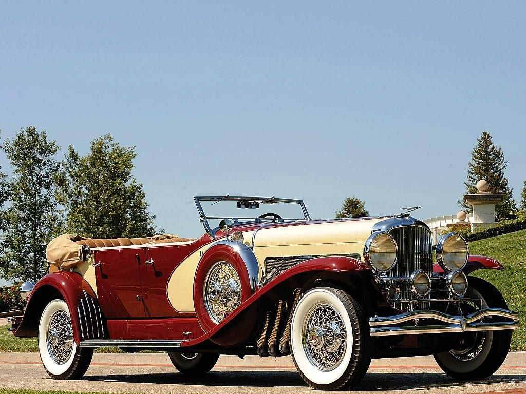 Car Duesenberg SJ | 1933-duesenberg sj 510 phaeton classic cars HD Wallpaper