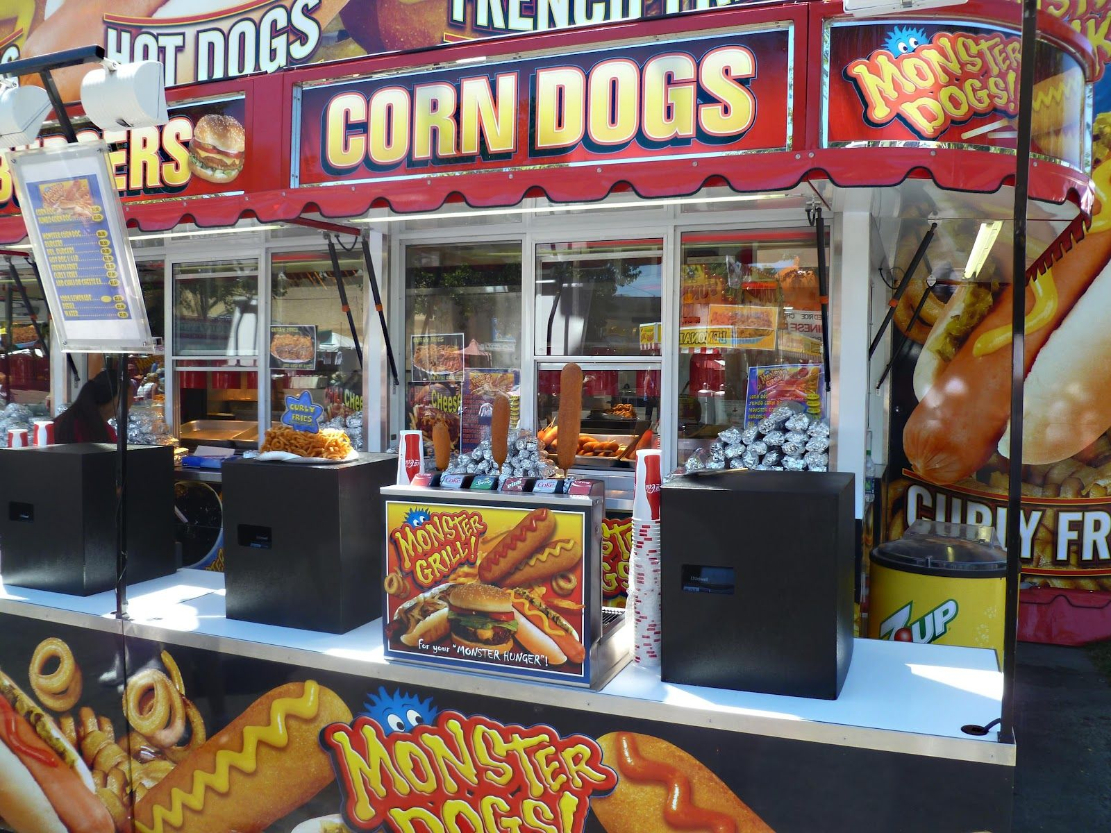 Map Of Oregon State Fairgrounds%0A The humble Corn Dog stand one the most sought out venues in any state fair