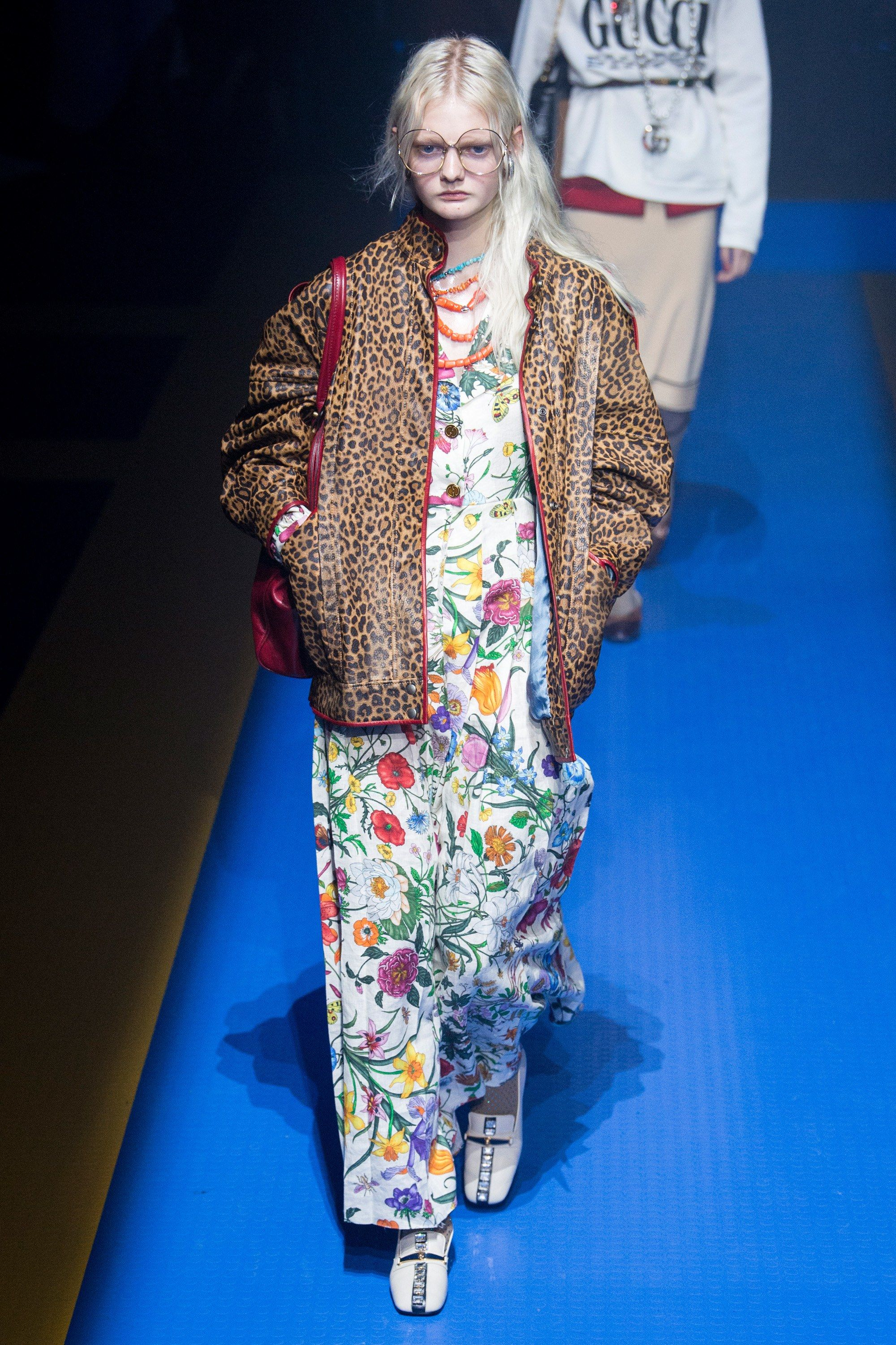 077cf14b1 Fashion Trend for Bohemian floral. Gucci Spring 2018 Menswear Collection  Photos - Vogue