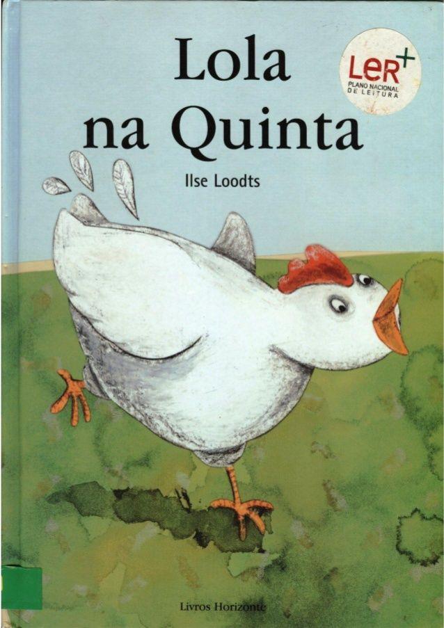 Lola Na Quinta Com Imagens Historias Para Criancas Livros De