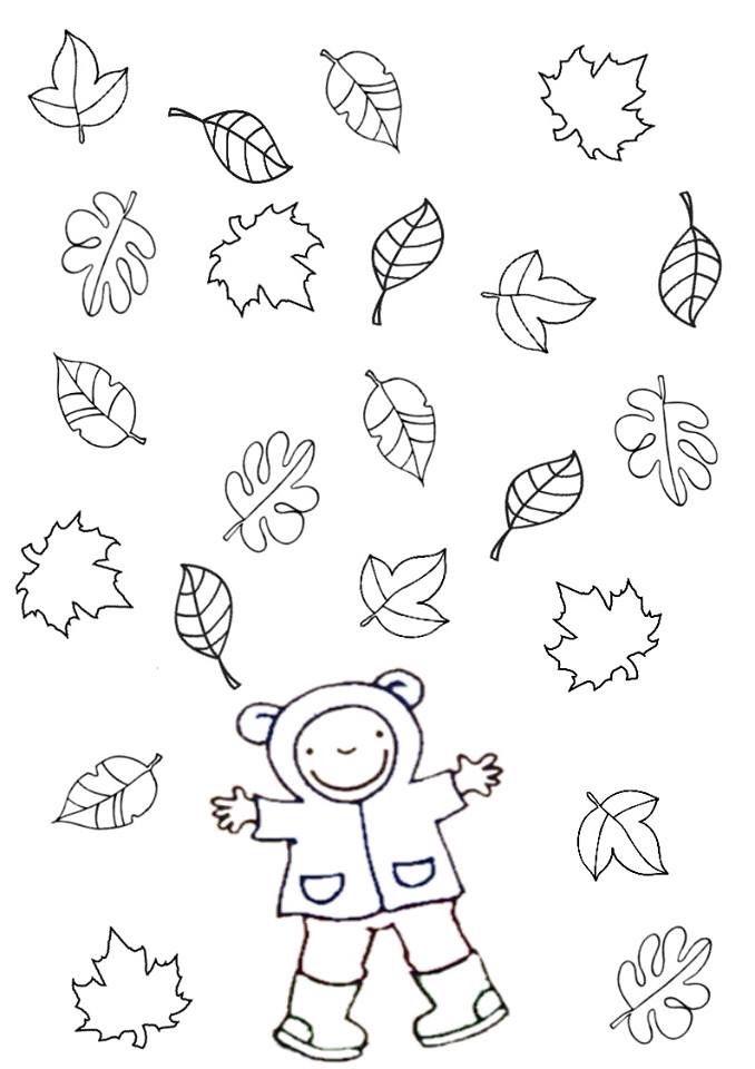Gooien met dobbelsteen (ogen + kleur + vorm blad + ...) | Autumn ...