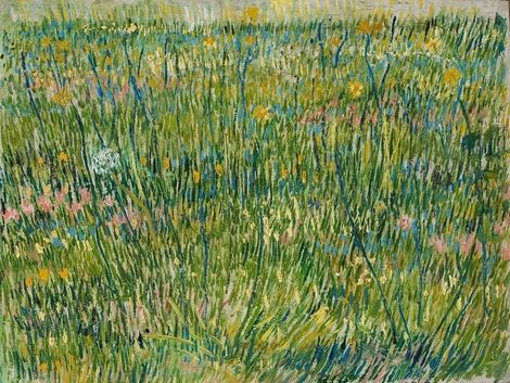 Vincent Van Gogh Grasgrond 1867 On Artstack Vincent Van Gogh Art Van Gogh Art