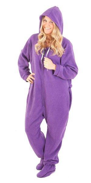 dea77005d0ab Purple Footie Pajamas