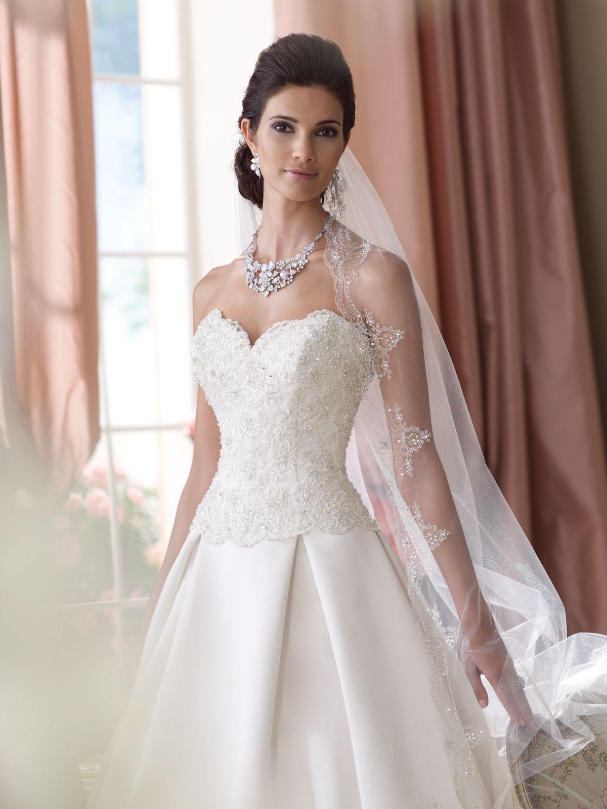 2015 designer bridal dresses | ... Tutera for Mon Cheri » wedding ...