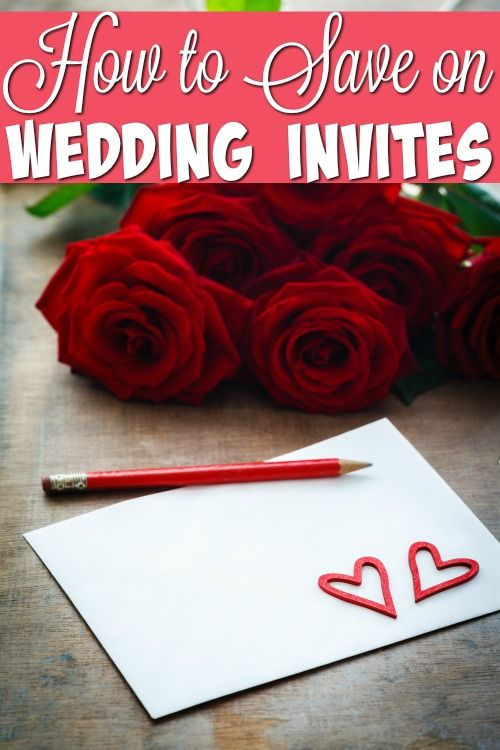 How To Save On Wedding Invites