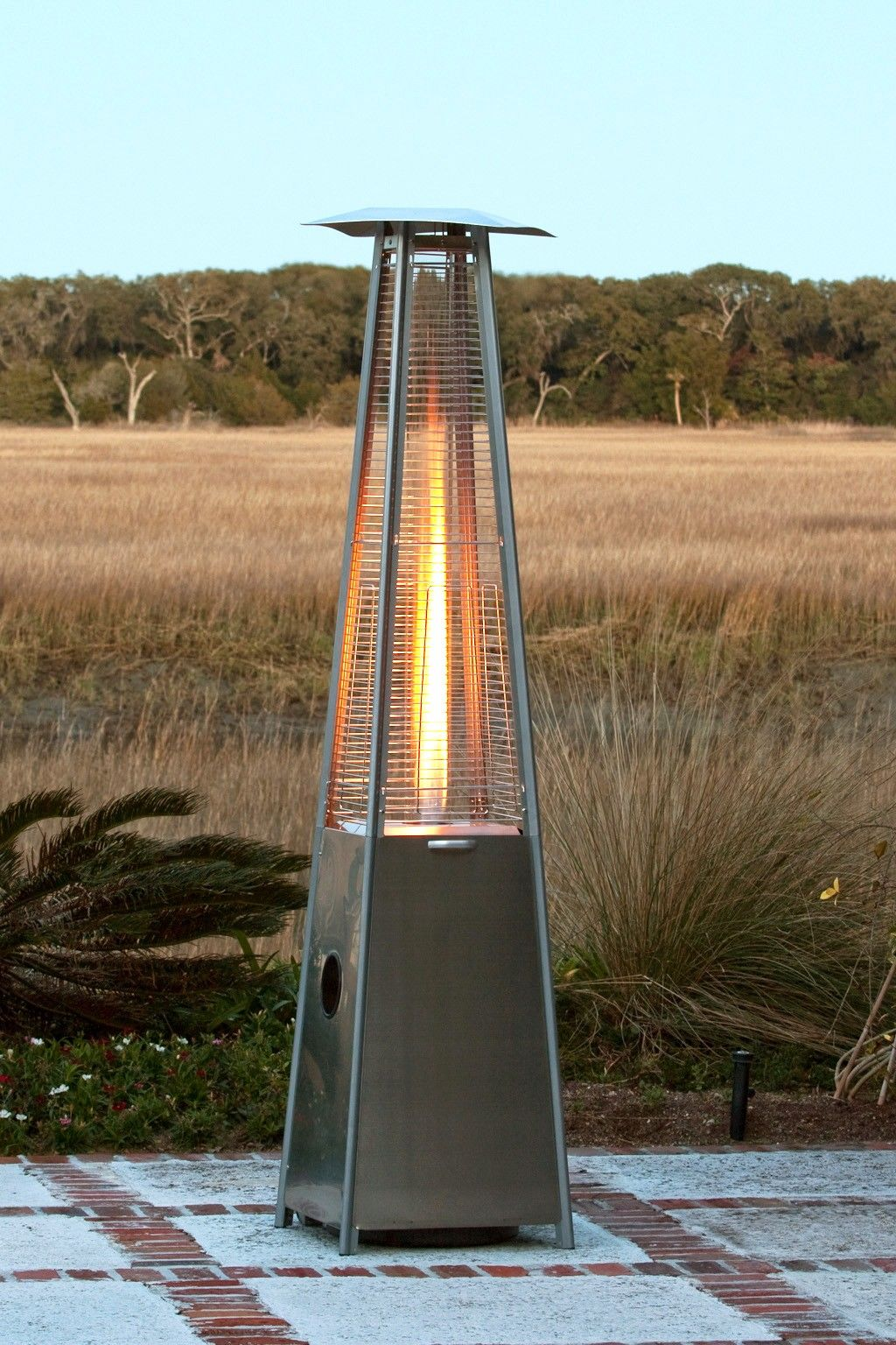 Our New Patented Stainless Steel Pyramid Flame Heater Brings A New
