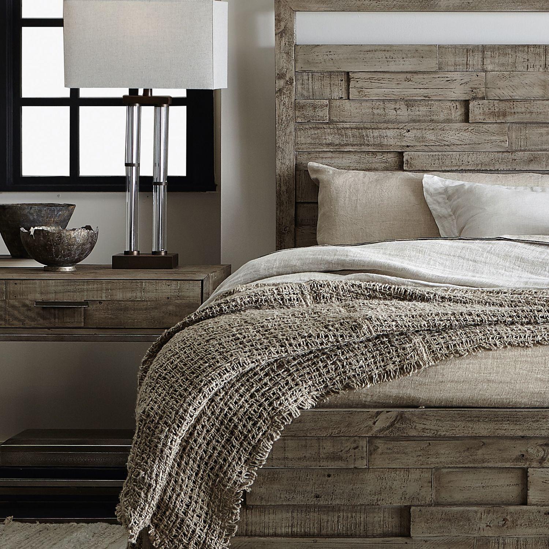 Bernhardt Loft Panel Bed Low