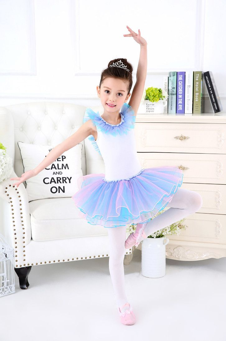 ae0b2c026 Click to Buy    Girls Ballet Dress For Children Dance Clothing Kids ...