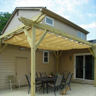 Amazing Wave Shades (Retractable Shades) Ready Made Sizes | Shade Sails LLC