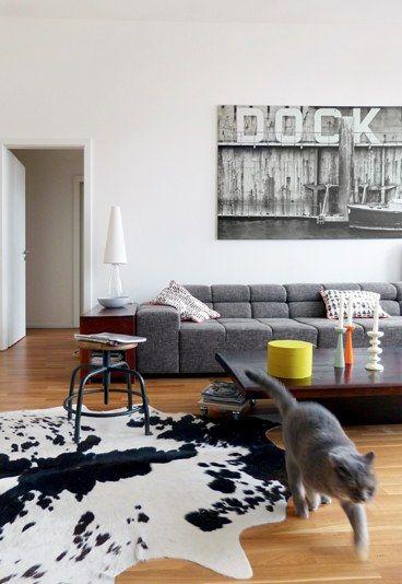 Industrial Charme Fürs Wohnzimmer   Moderne Einrichtung Für Deine Wohnung.  Noch Mehr Ideen: Www.gofeminin.de/wohnen/wohnideen D58830.html