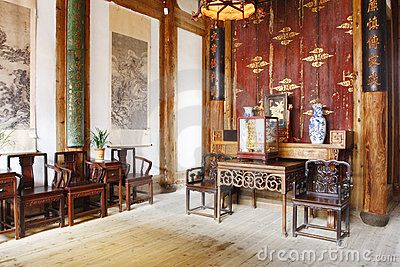 Chinese old house ancient chinese house interior view - Decoration asiatique dans linterieur moderneidees inspirantes ...