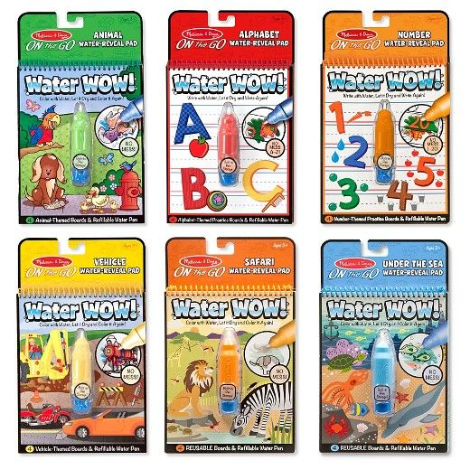 Melissa Doug Water Wow Water Reveal Pad Bundle Animals