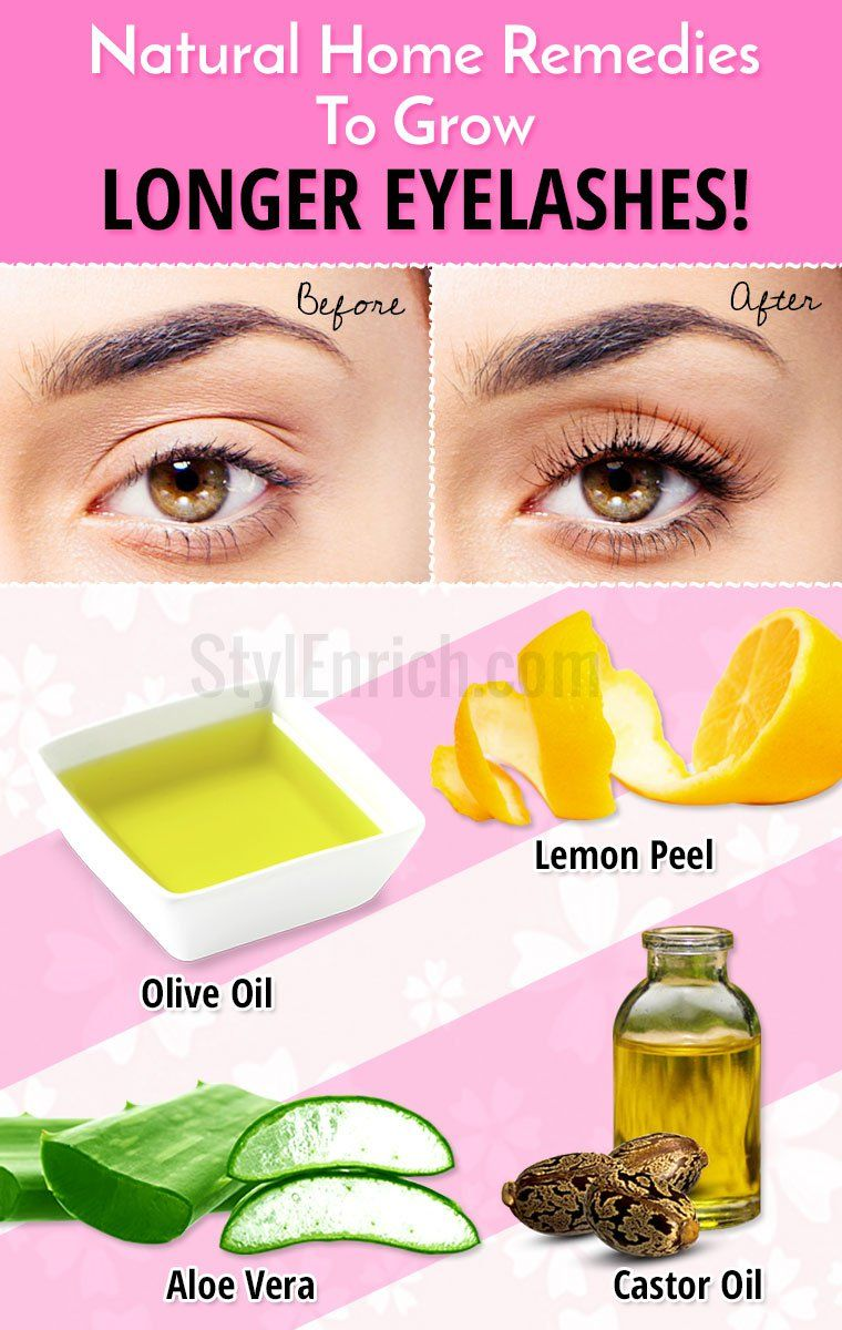 How To Grow Longer Eyelashes Naturally Using Home Remedies Care