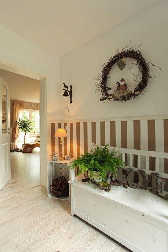 Fertighaus Wohnidee Diele Flur Und Galerie Kompaktes Landhaus