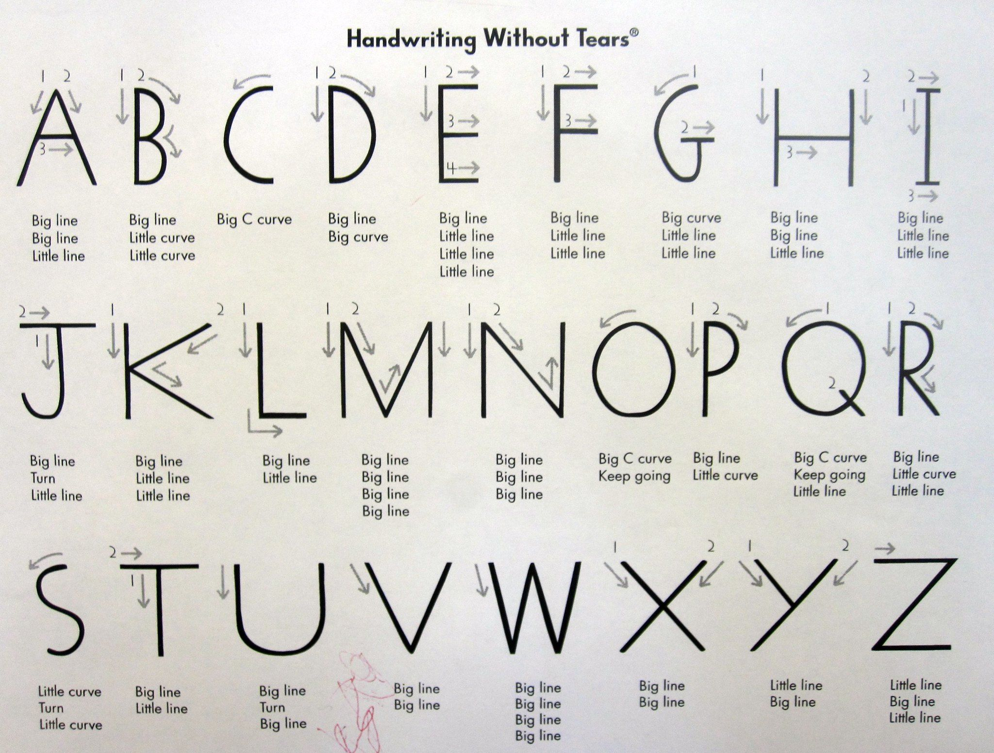 Handwriting Without Tears In