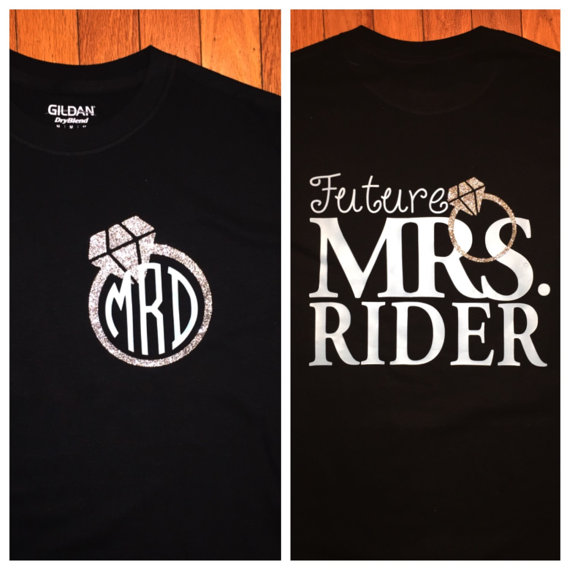 Future Mrs Shirt Perfect For A New Bride By Studiochasedesigns