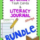 Literacy Task Card & Literacy Journal Strips BUNDLE ***This product is a BUNDLED product.*** It includes my Literacy Task Cards and Literacy J...$