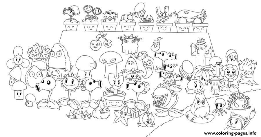 Plants Zombies Coloring Pages Chomper Pvz All Line Coloring Pages Cute Coloring Pages Printable Coloring Pages